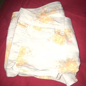 AE floral shorts